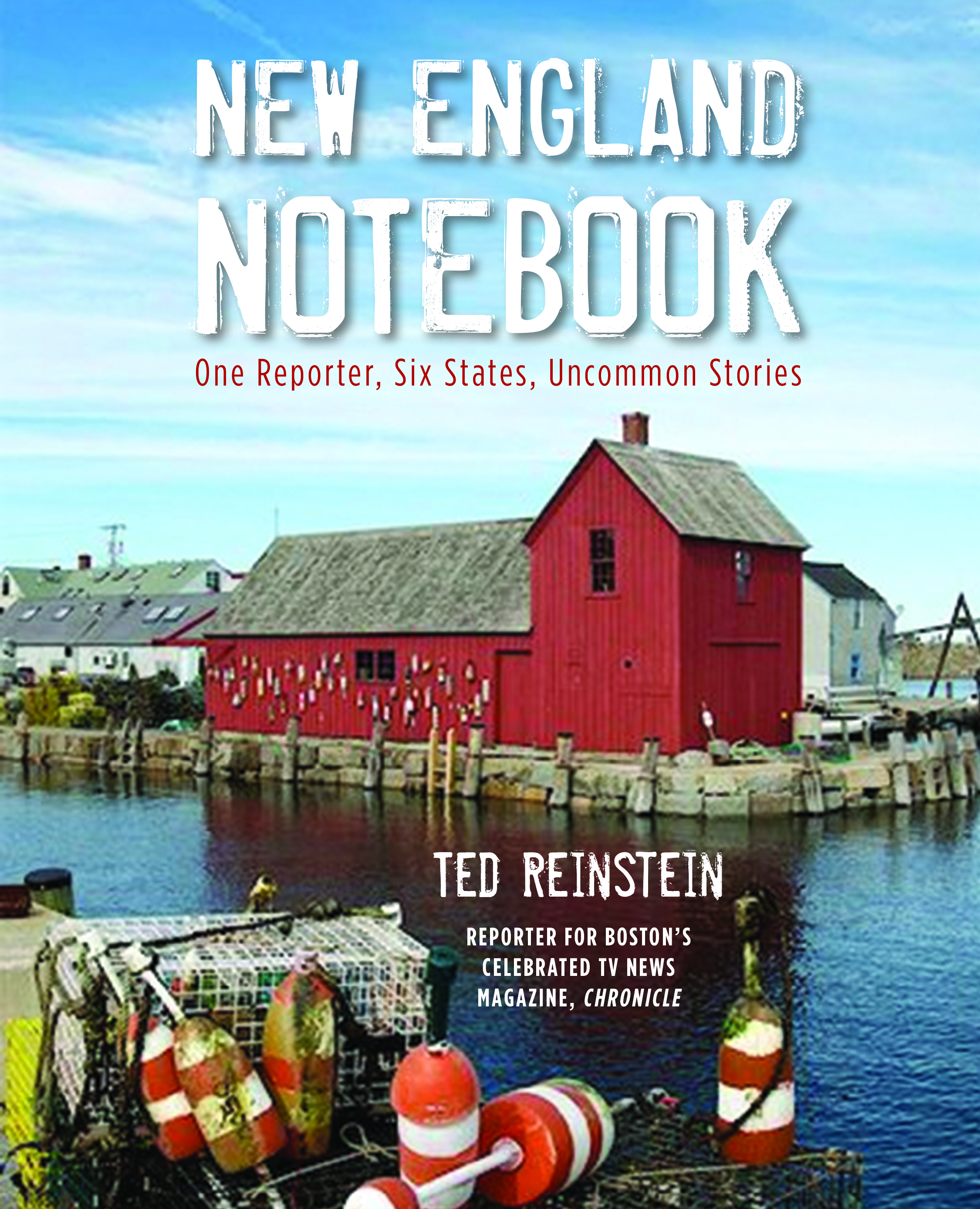 New England Notebook cover